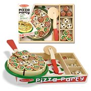 Pizza Party Wooden Pizza Set