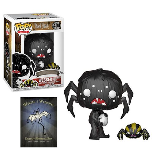 Don't Starve Webber with Spider Pop! Vinyl Figure and Buddy #404