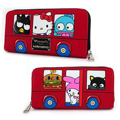 Hello Kitty Sanrio Bus Zip-Around Wallet - Entertainment Earth 5bb6b3bcf5d7a