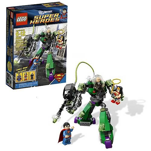 LEGO DC Universe 6862 Superman vs. Power Armor Lex Luthor