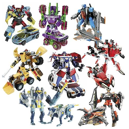 Transformers Cybertron Deluxe Wave 3