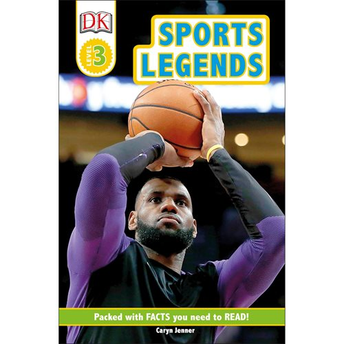 Sports Legends DK Readers Level 3 Paperback Book