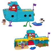 Little People Travel Together Friend Ship Playset