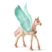Bayala Decorated Unicorn Pegasus Foal Collectible Figure