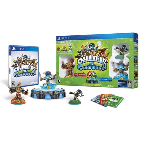 Skylanders Swap Force Sony PS4 Video Game Starter Pack with Promo Figure