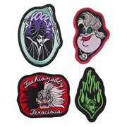 Disney Villains Embroidered Patches 4-Pack