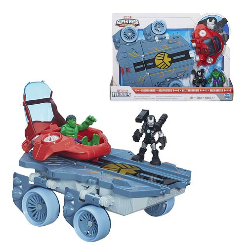 Marvel Super Hero Adventures Helicarrier Vehicle