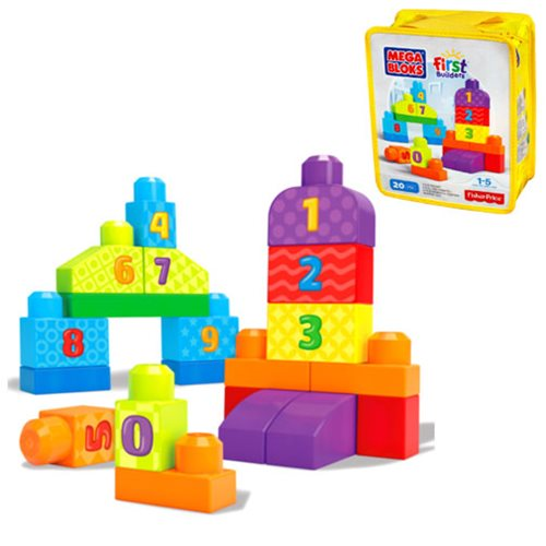 Mega Bloks First Builders 123 Count Blocks