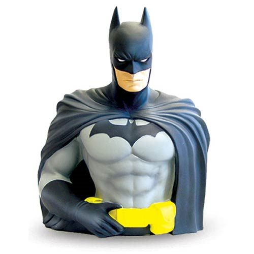 Batman Vinyl Bust Bank