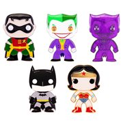 DC Comics Classic Large Enamel Pop! Pin - 1 Random Pin