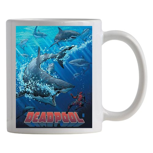 Deadpool Shark Tank Previews Exclusive Mug