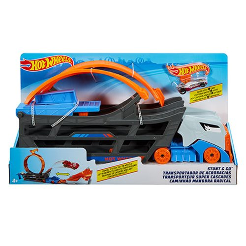 Hot Wheels Stunt and Go Track Set