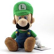 Super Mario Bros. 9-Inch Luigi Plush Doll