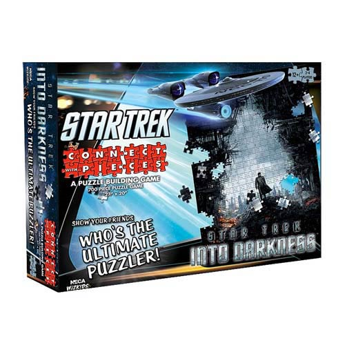 Star Trek Into Darkness Connect with Pieces Puzzle Game