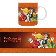 The Seven Deadly Sins Group Mug