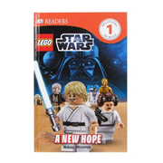 LEGO Star Wars A New Hope DK Readers 1 Hardcover Book