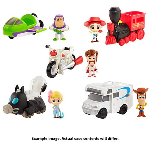 Toy Story 4 Mini-Figure with Vehicle Case