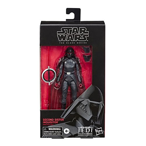 Star Wars The Black Series Fallen Order Second Sister Inquisitor 6-Inch Action Figure