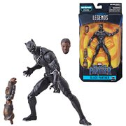 Black Panther Marvel Legends 6-Inch Unmasked Black Panther Action Figure