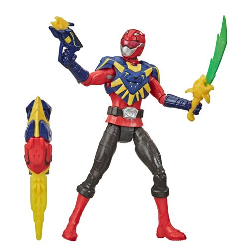Power Rangers Beast Morphers Beast-X King Red Ranger 6-inch Action Figure