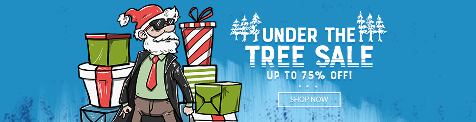 Under the Tree Sale 2019 Up to 75% Off!
