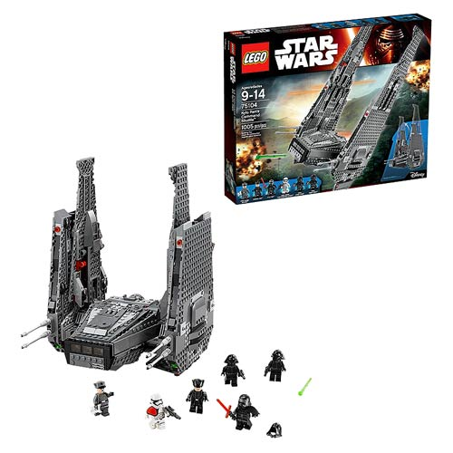 Lego Star Wars 75104 Kylo Rens Command Shuttle Entertainment