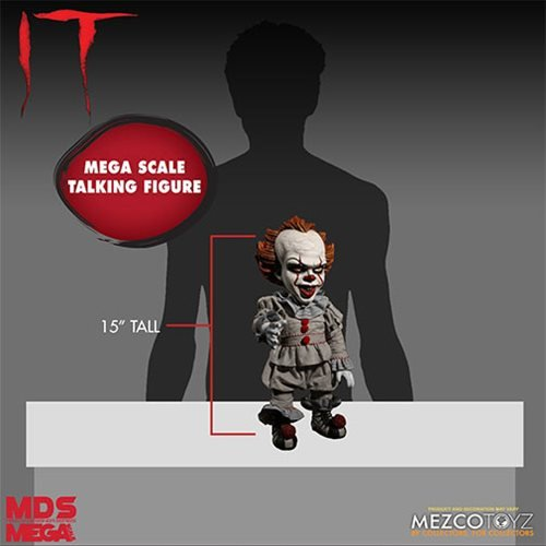 7a55411a96ff It Pennywise Talking Mega-Scale 15-Inch Doll