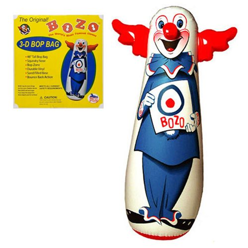 Bozo The Clown 46 Inch Bop Bag