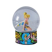 Disney Fairies Tinker Bell Snow Globe by Romero Britto