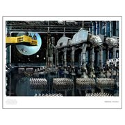 Star Wars Imperial Staging by Cliff Cramp Paper Giclee Art Print