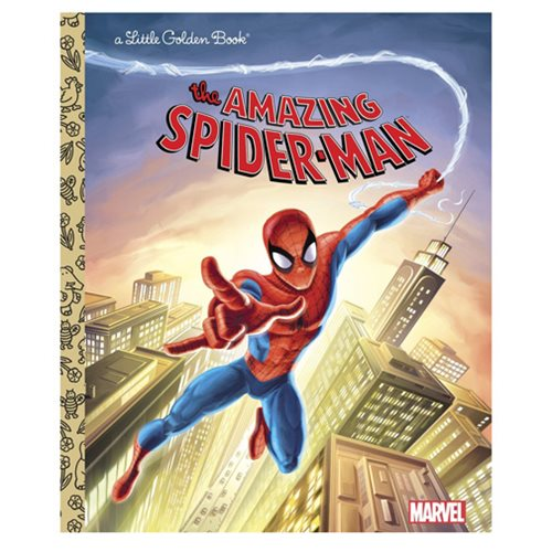 Marvel The Amazing Spider-Man Little Golden Book