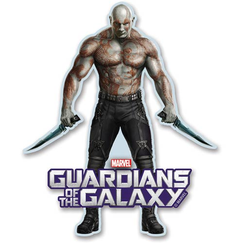 Guardians of the Galaxy Drax Funky Chunky Magnet