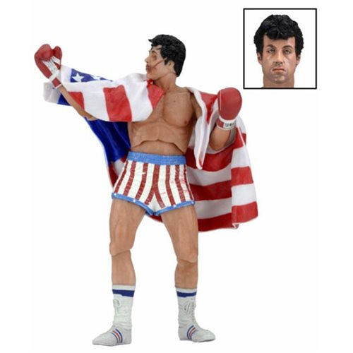 Rocky 40th Anniversary Rocky Balboa 7-Inch Scale Series 2 Action Figure