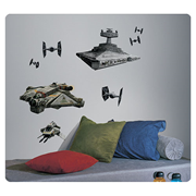 Star Wars Rebels with Imperial Ships Peel and Stick Giant Wall Decals