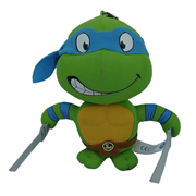 Teenage Mutant Ninja Turtles Leonardo Super Deformed 5 1/2-Inch Plush Key Chain