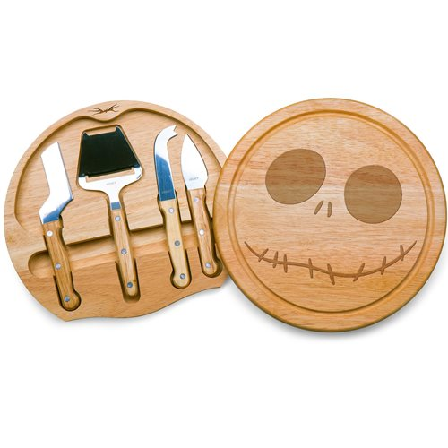 Nightmare Before Christmas Jack Skellington Circo Cheese Board and Tools Set