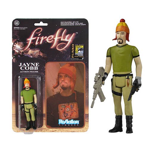 Firefly Jayne Cobb with Hat ReAction 3 3/4-Inch Retro Action Figure - Previews SDCC Exclusive