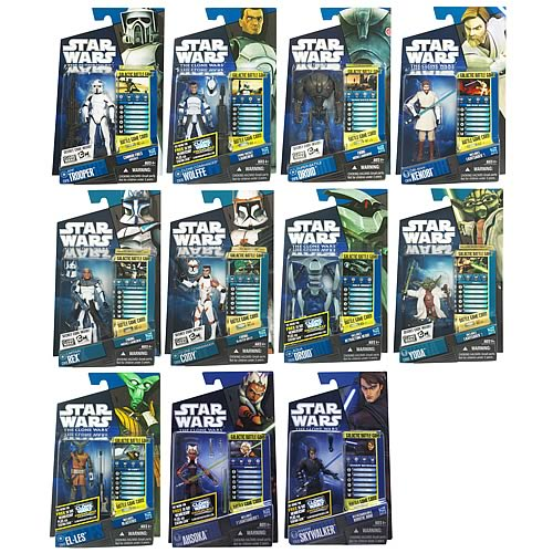 Star Wars Clone Wars Action Figures Wave 8