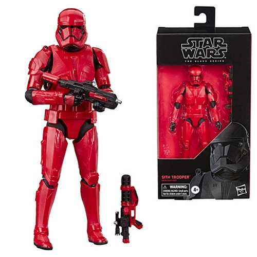 Star Wars The Black Series The Rise of Skywalker Sith Trooper 6-Inch Action Figure