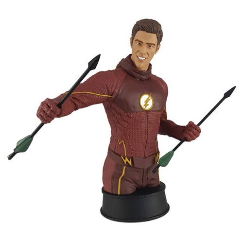 Flash TV Series Flash Training with Oliver Polystone Bust - Previews Exclusive