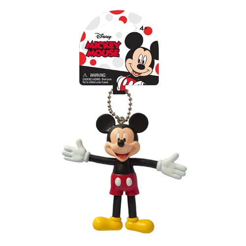 Mickey Mouse Classic Bendable Key Chain