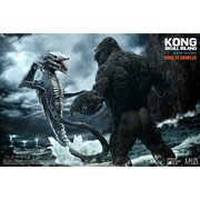 Kong: Skull Island Kong vs. Crawler Soft Vinyl Figure Set