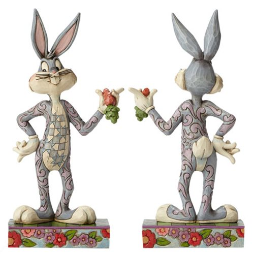 Looney Tunes Jim Shore Bugs Bunny What's Up Doc Statue