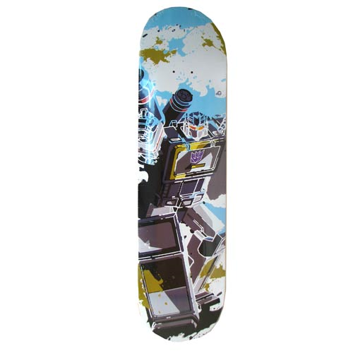 Transformers Soundwave Skateboard Deck