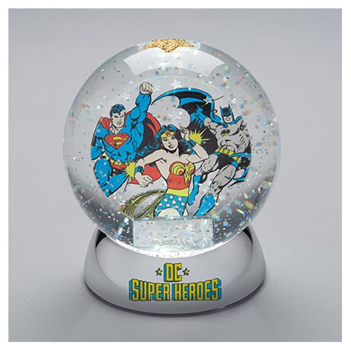 DC Comics DC Superheroes Waterdazzler Snow Globe
