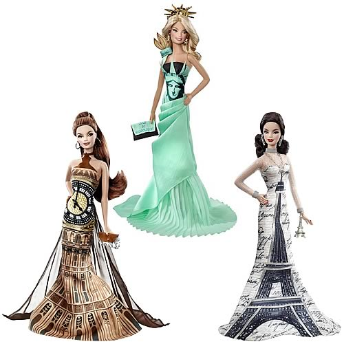 Barbie Dolls of the World Landmark Collection Dolls Case