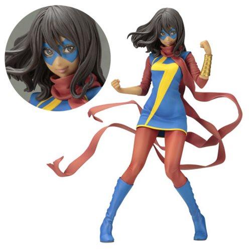 Картинки по запросу Marvel Bishoujo Statues - 1/7 Scale Ms. Marvel (Kamala Khan) Statue