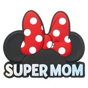 Minnie Mouse Super Mom Red Soft Touch Magnet