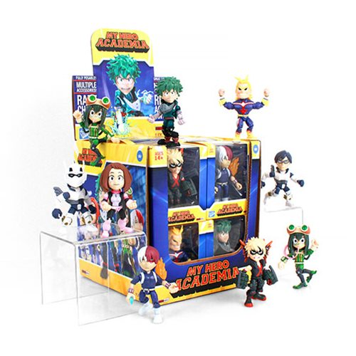 My Hero Academia Action Vinyls Figure Display Case