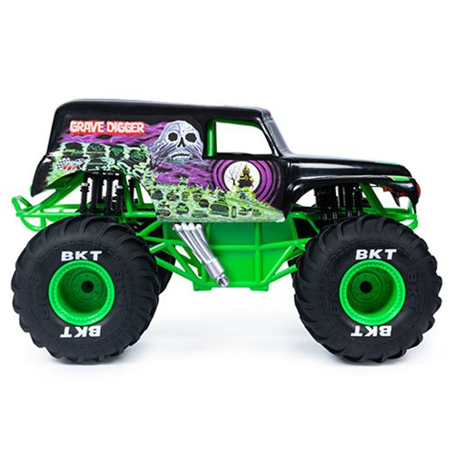 Monster Jam Grave Digger 1:10 Scale Remote Control Monster Truck